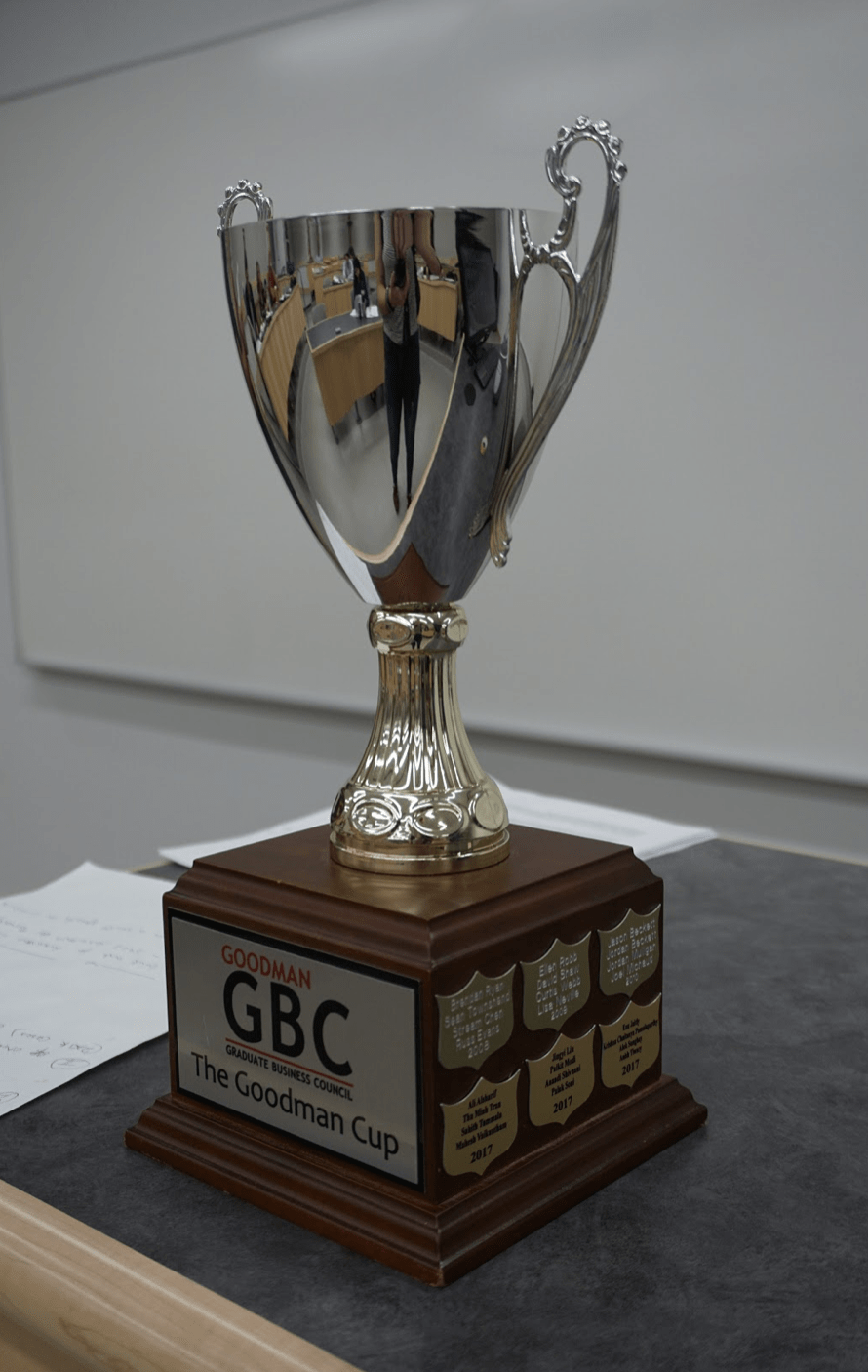 The Goodman Graduate Business Council takes on The Goodman Cup