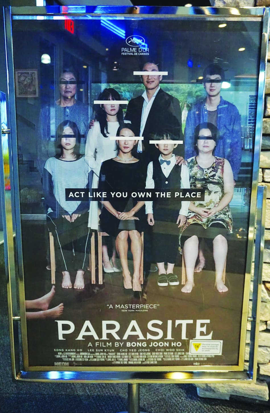 Parasite will get under your skin