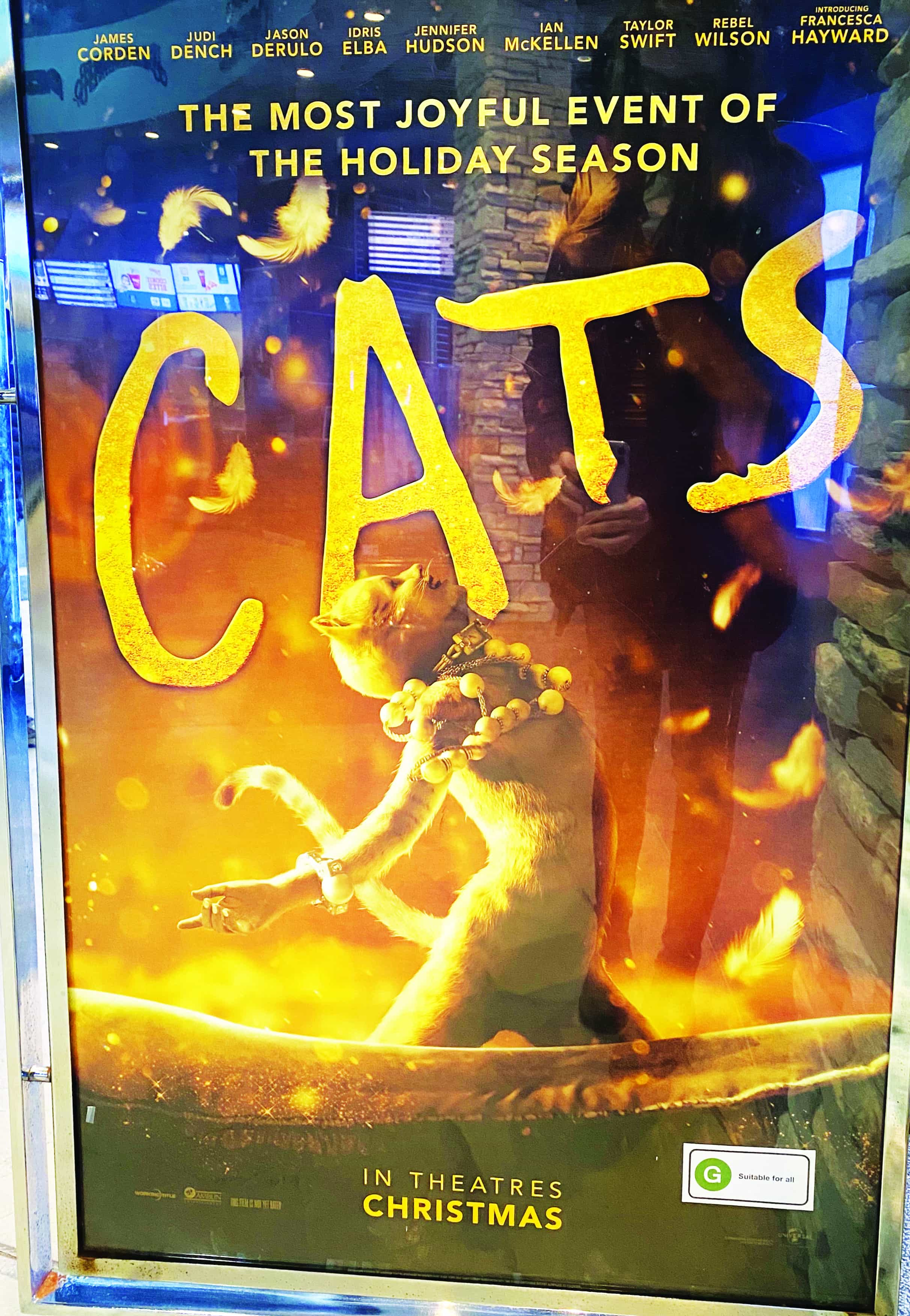 You'll need nine lives to endure the horrors of Cats