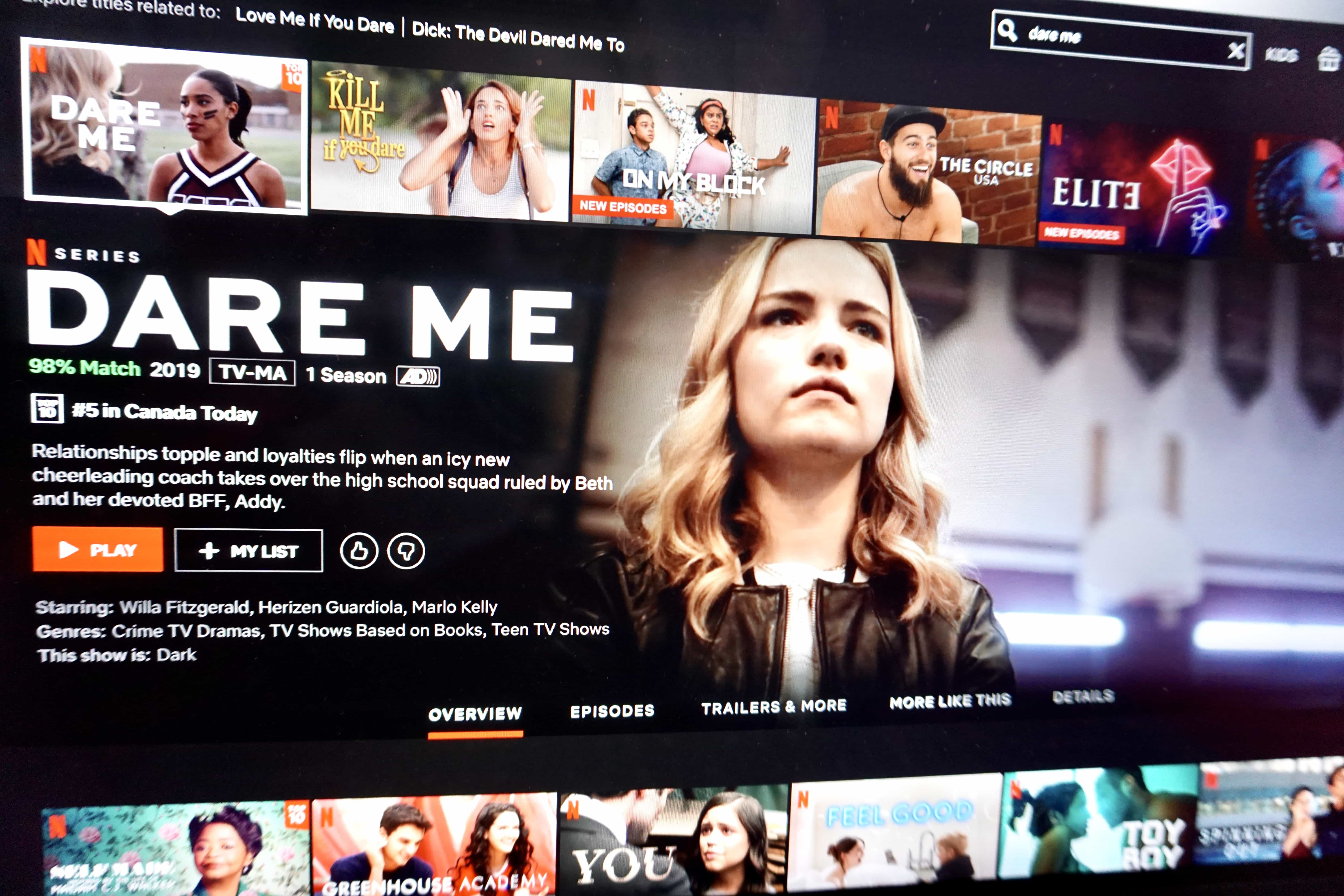 Dare Me is a daring new take on the high school drama