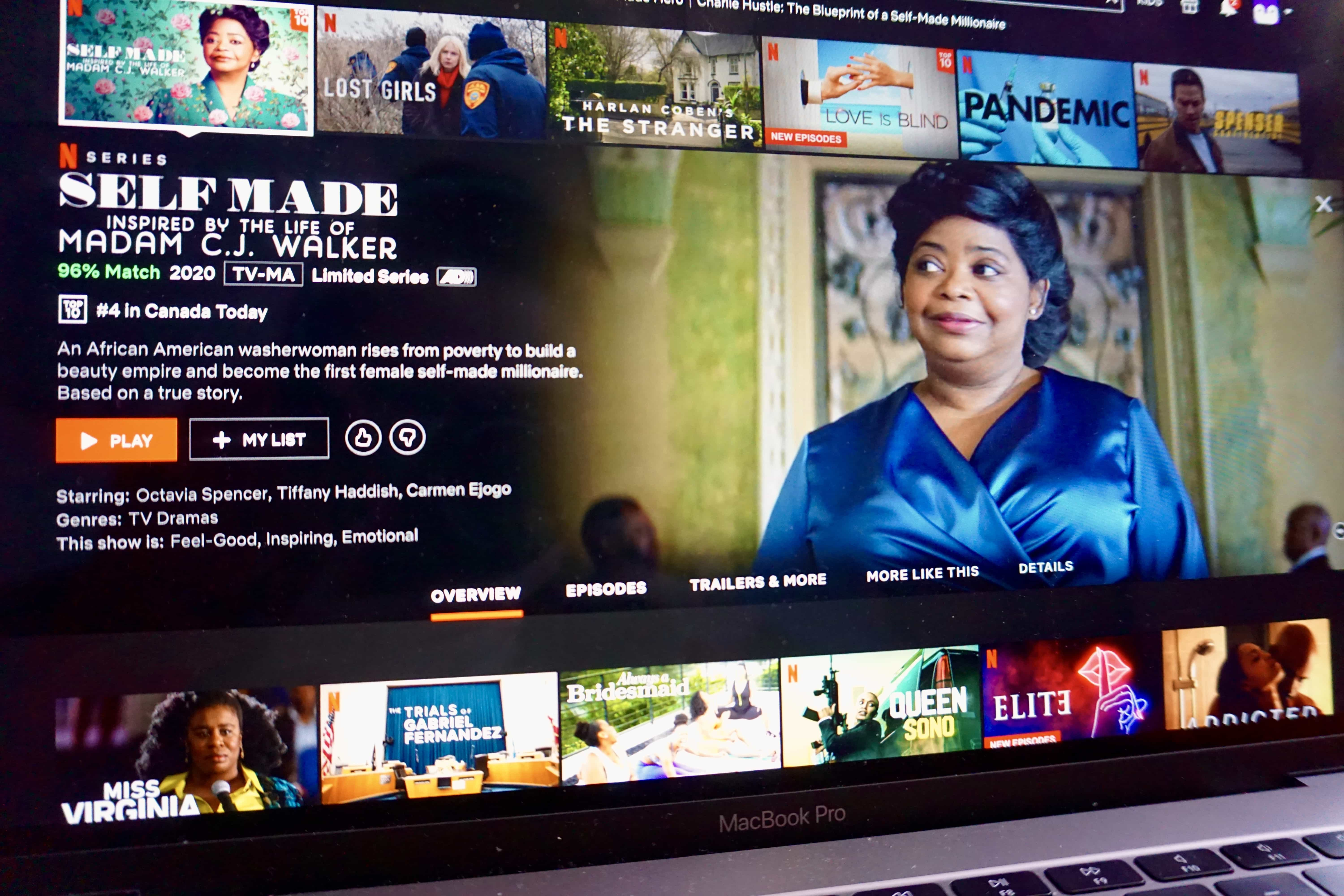Octavia Spencer stuns in Self Made: Inspired by the Life of Madam C.J. Walker