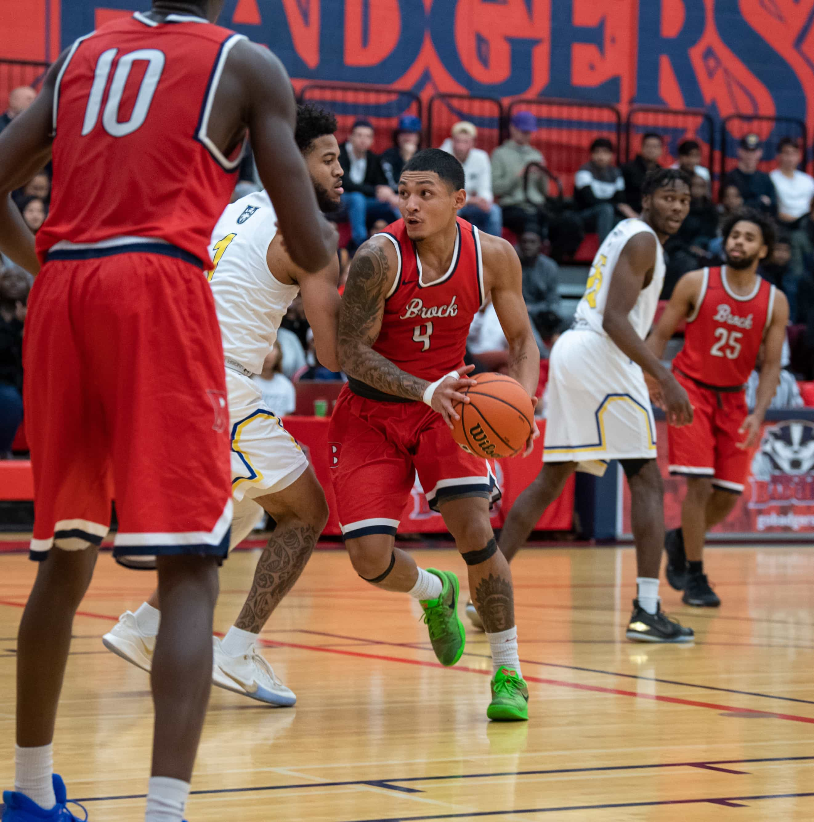 Niagara River Lions select three Badgers in CEBL U Sports draft