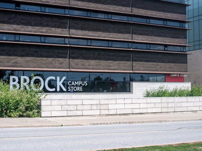 The campus store remains accessible online only