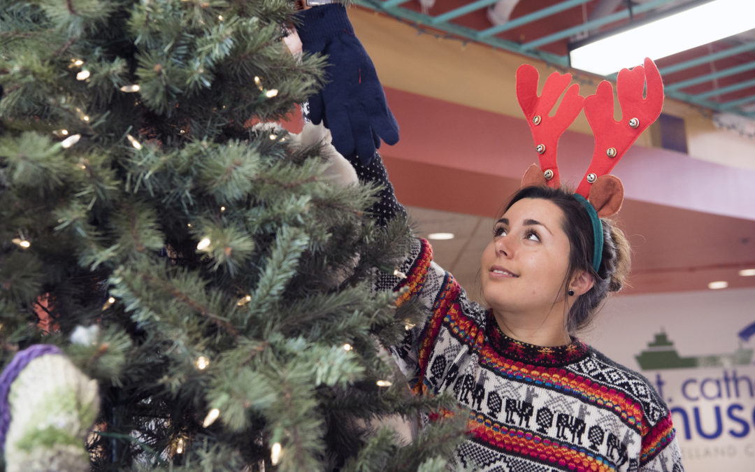 Give back this holiday season with the Mitten Tree campaign