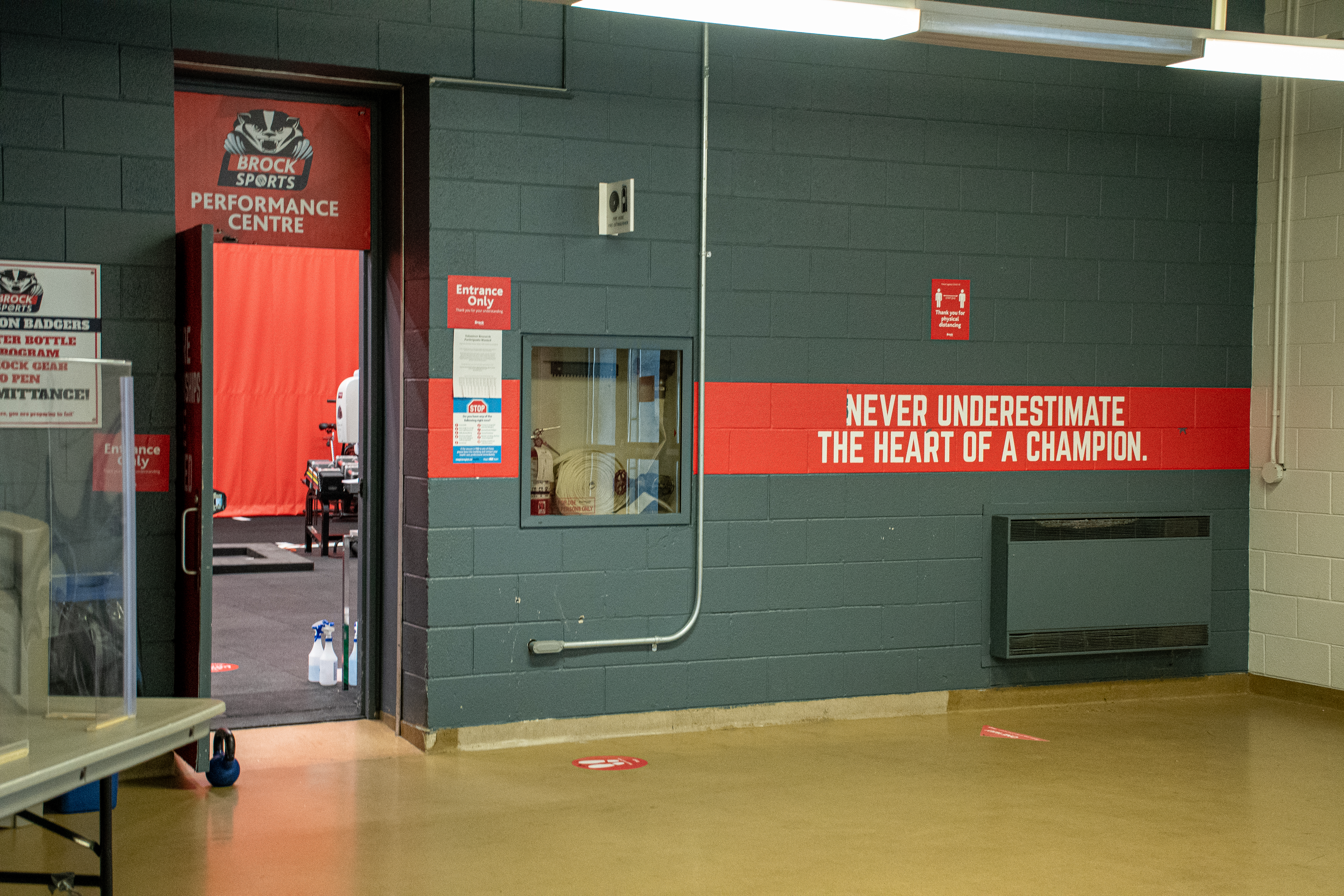 How Brock Sports Performance kept Badger athletes in shape during the pandemic