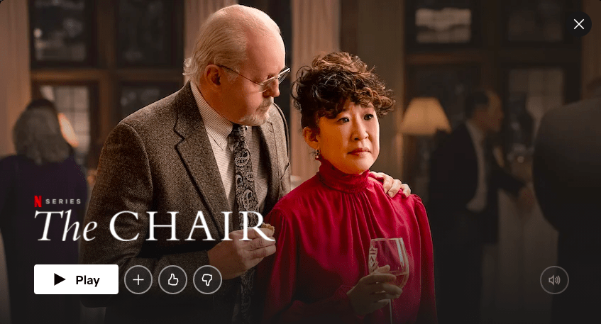 The Chair – a perfect back-to-school drama on Netflix
