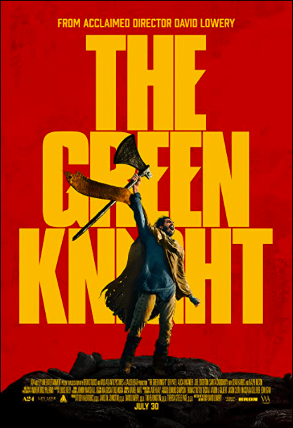 The Green Knight, a really weird movie