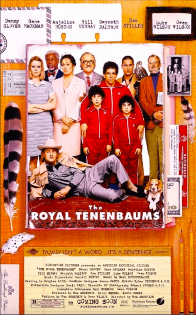 The Royal Tenenbaums: 20 years later